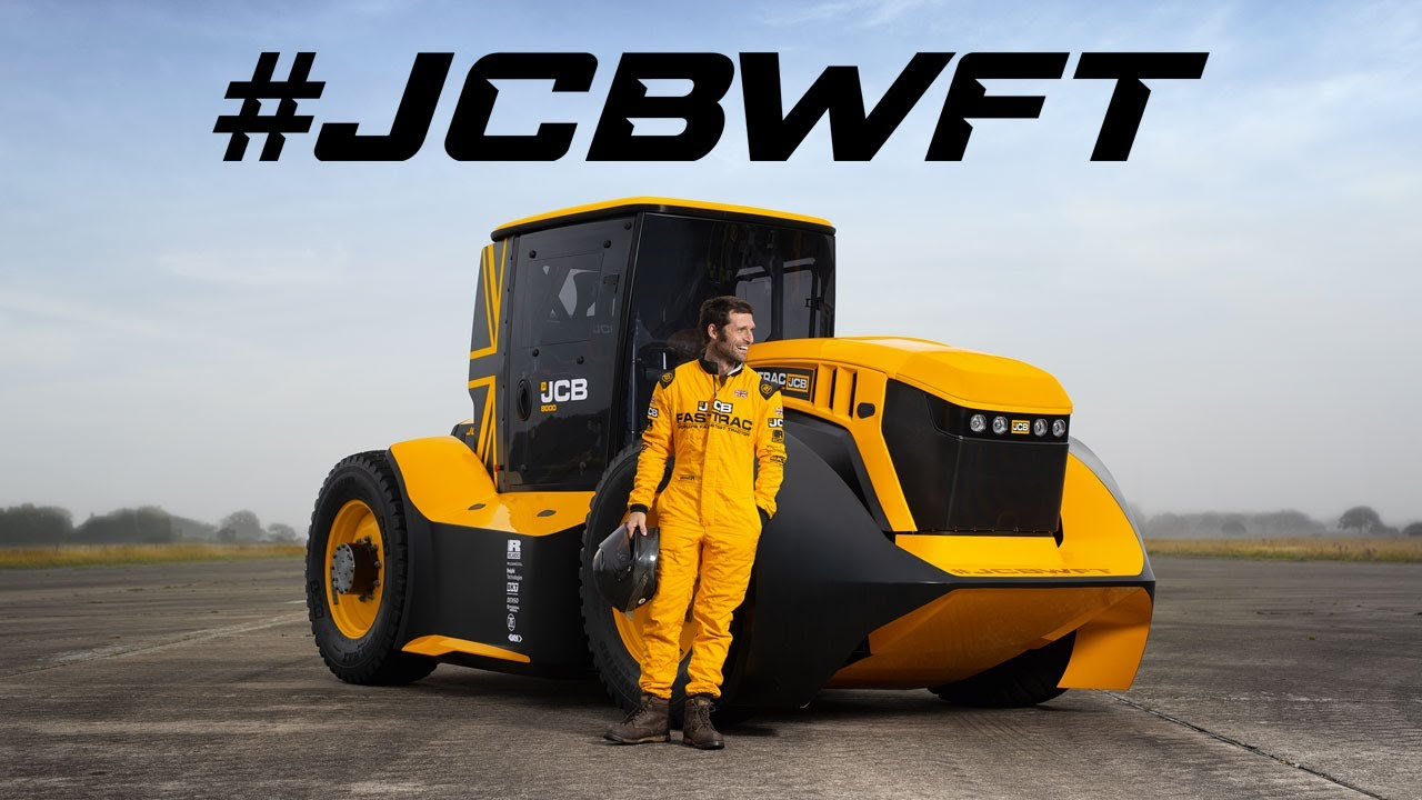 JCB World's Fastest Tractor - Exclusive Interview with Guy Martin - #JCBWFT
