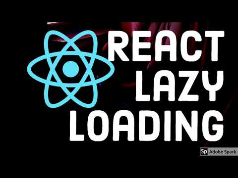 React Lazy Loading of Componenets #routing #64