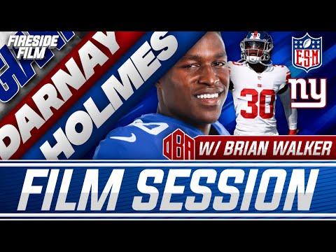 Darnay Holmes Film Breakdown | Is He The Next Chris Harris? | New York Giants Feat. Brian Walker