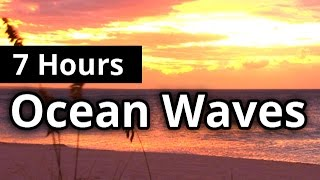 Ocean Waves Paradise 7 HOURS - Natural Sleep Sounds - Relaxation - Meditation