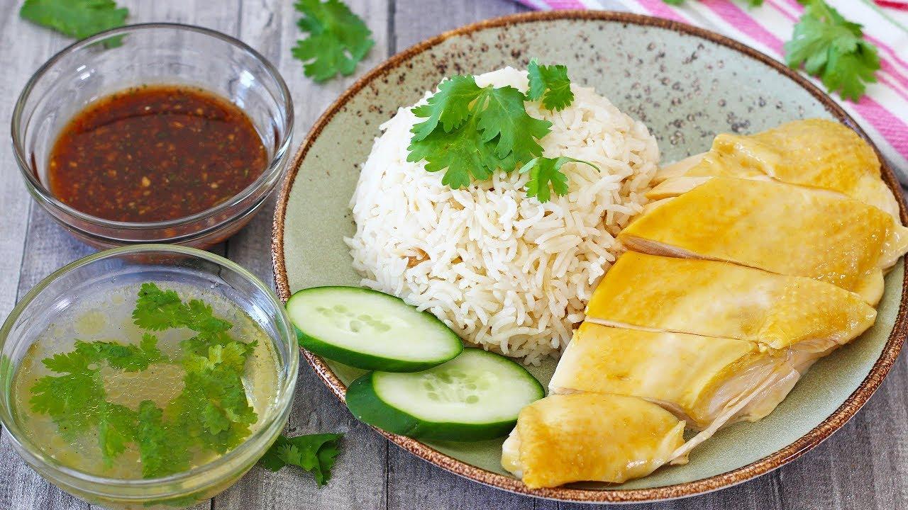 Thai Chicken Rice (Khao Man Gai) - YouTube