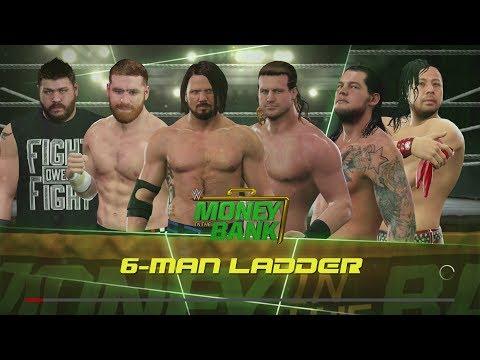 MONEY IN THE BANK MALE LADDER MATCH!!! ||#MITB #LADDER #WWE2K17 SIMULATION