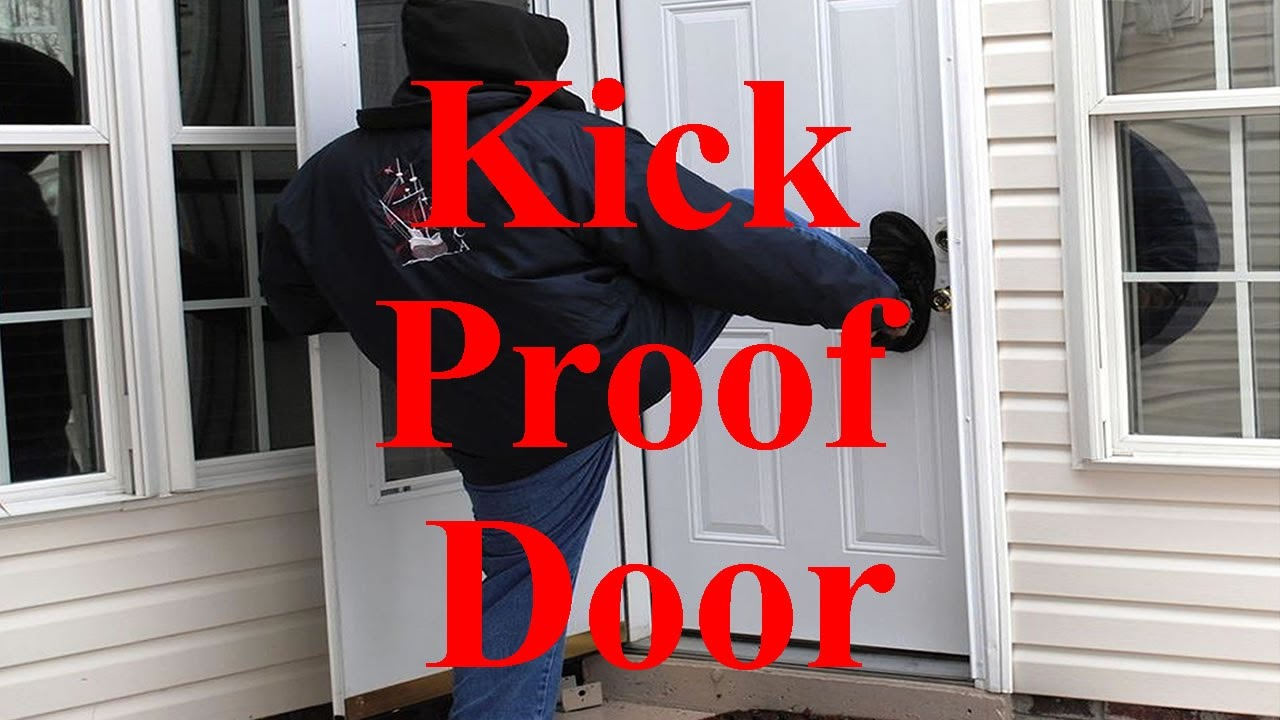 How to Kick Proof Front Door (Burglars HATE This) & How to Kick Proof Front Door (Burglars HATE This) - YouTube Pezcame.Com