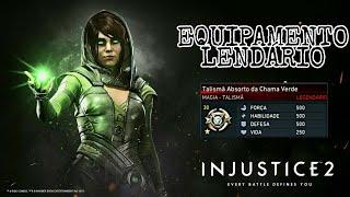 Injustice 2: MAGIA - Equipamento Lendário