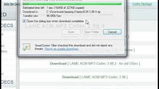 LAME MP3 ACM Codec for Windows 7 / 64-Bit