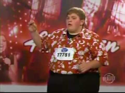 Funny American Idol Contestants - Simon Calls One A Monkey