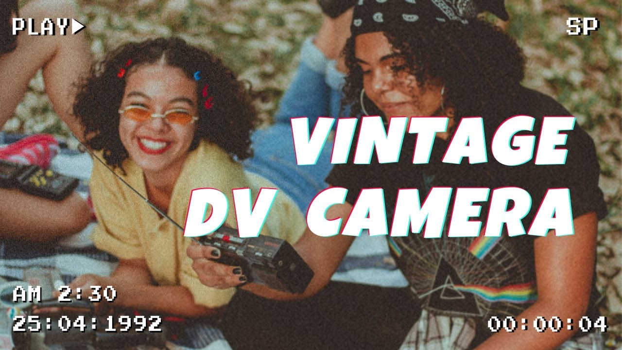 VHS CAMERA EFFECTS | vintage video template | VideoShow