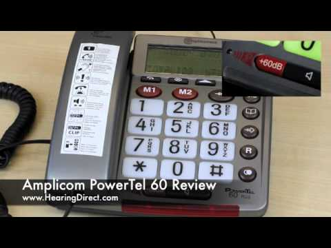 Amplicom PowerTel 60 Review By HearingDirect.com