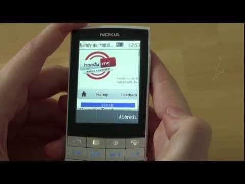 Nokia X3 Touch and Type Video clips