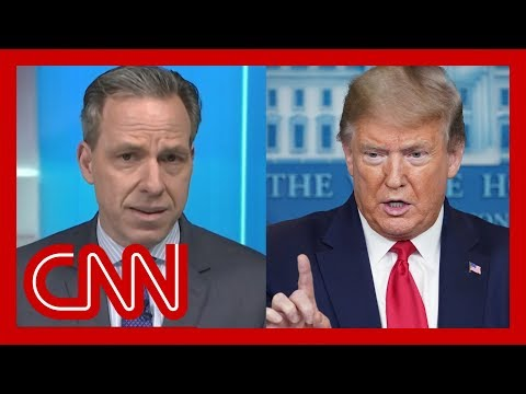 Tapper rolls the tape on what Trump does 'not want you to remember'