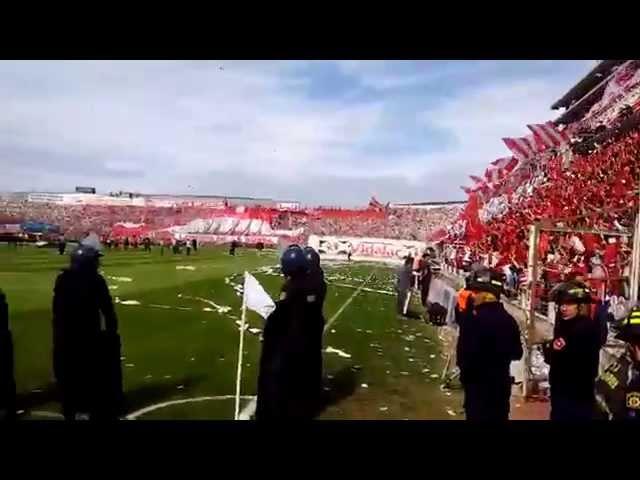 RECIBIMIENTO TATENGUE |  Unión 0-0 Colón 2015 Fecha 27