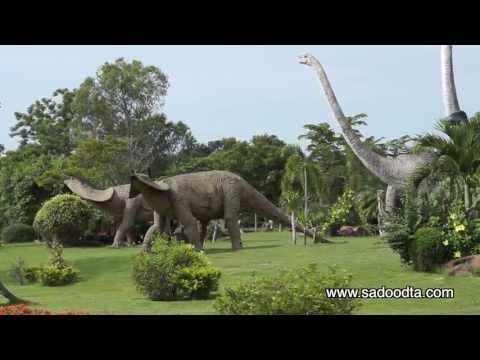 ระวังไดโนเสาร์ข้ามถนนที่กาฬสินธุ์