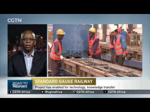 SGR will improve the efficiency of movement of freight and services