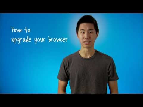 How to upgrade your browser