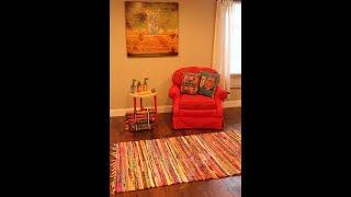 Cómo pintar el tapizado de un sillón!