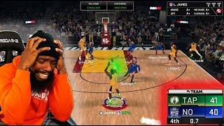 Opal Lebron Shot w/ 0.7 Left! BUZZER BEATER Streak On The Line! NBA 2K20