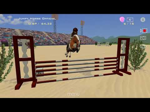Jumpy Horse Show Jumping Competition For Pony Riders