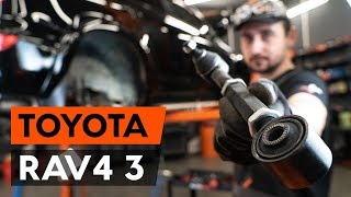 How to replace Suspension arm TOYOTA RAV 4 III (ACA3_, ACE_, ALA3_, GSA3_, ZSA3_) Tutorial