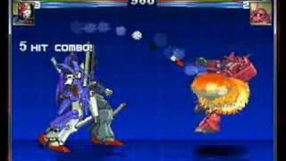 Mugen Gundams gameplay