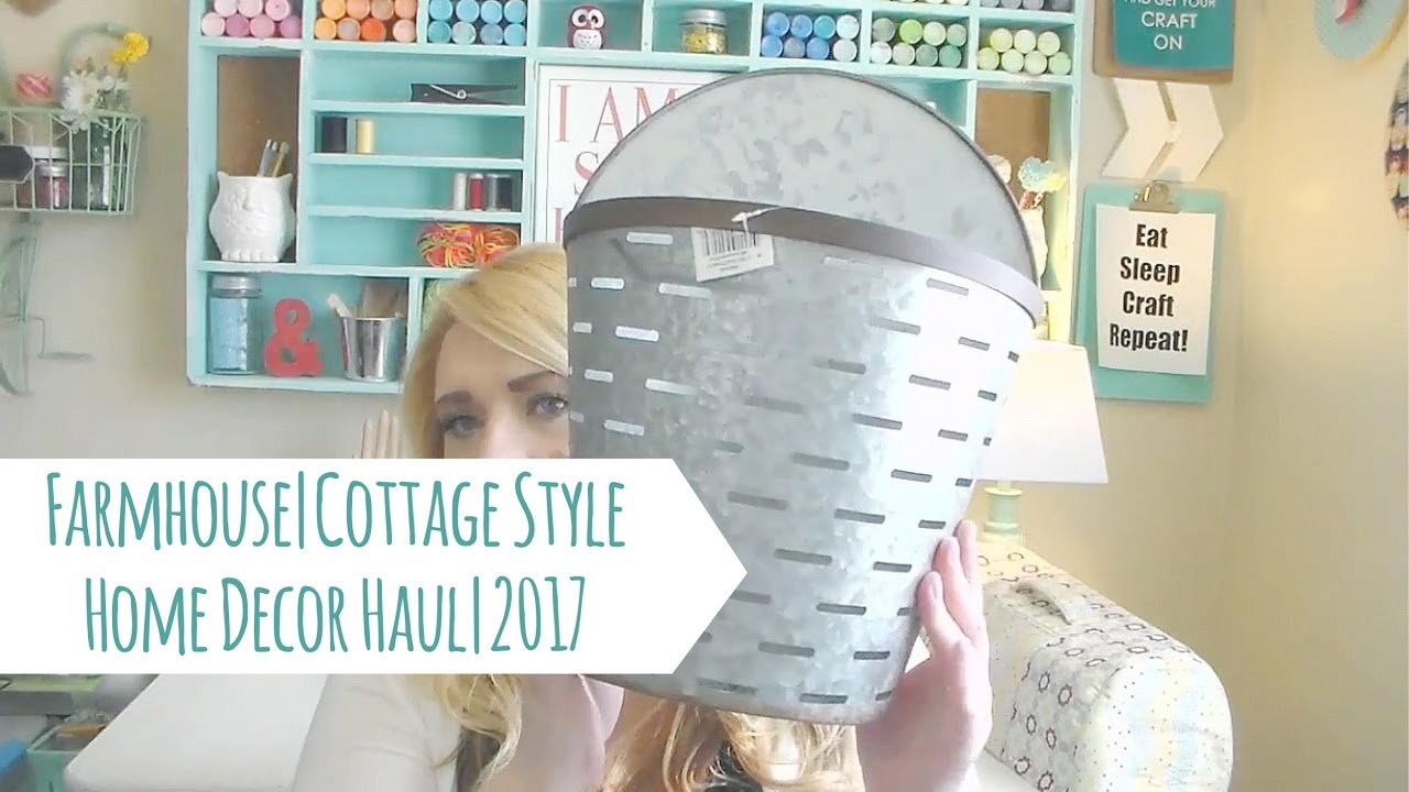 Homegoods Tai Pan Trading Walmart Farmhouse Decor Haul 2017