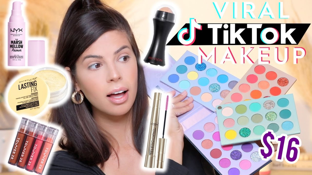 I TRIED THE MOST VIRAL MAKEUP ON TIKTOK (and you should too)