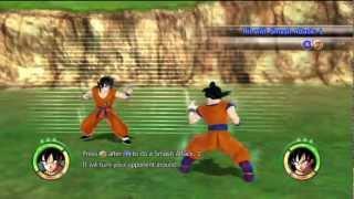 Dragon Ball: Raging Blast 2 - All Tutorials Gameplay HD