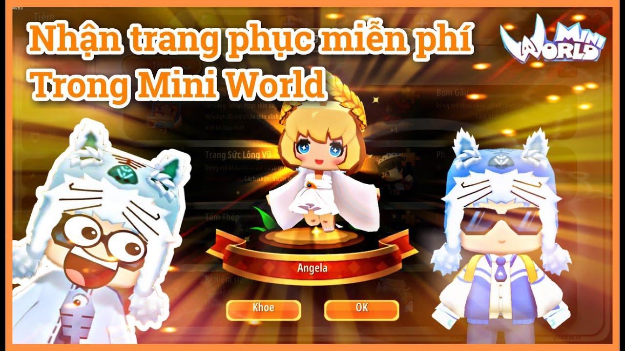 Mini World: Trang phục miễn phí từ event sinh nhật Mini World có gì đặc biệt?  || Meowpeo