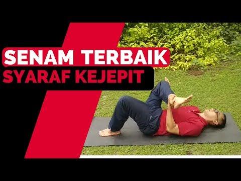 Yoga mengobati Syaraf Kejepit || Hasil 3 Hari.