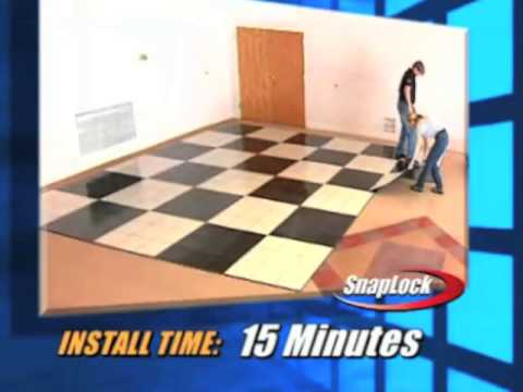 Centiva Snap Lock Tile Trade Show Flooring Youtube