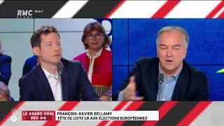 Le Grand Oral de François-Xavier Bellamy - Les Grandes Gueules de RMC