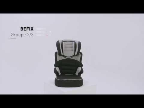 Réhausseur avec dossier BEFIX - MyCarsit - Groupe 2/3 - Vidéo d'installation