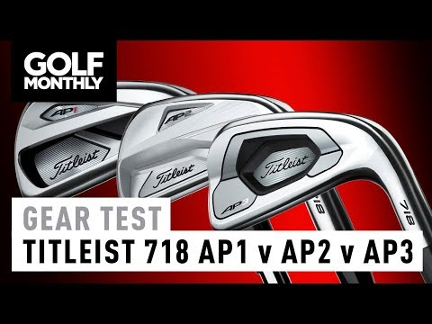 Titleist 718 AP1 vs AP2 vs AP3 | Irons Test | Golf Monthly