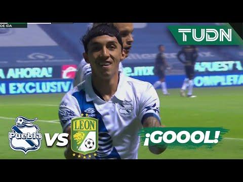 ¿Qué? ¡Gol de Puebla! Agarran dormido a León | Puebla 1-0 León | Guard1anes 2020 Liga Mx | TUDN