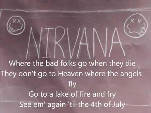 Nirvana Lake of Fire lyrics HD