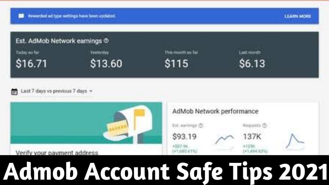 Admob Account Safe Tips 2021 | #TargetAdmob