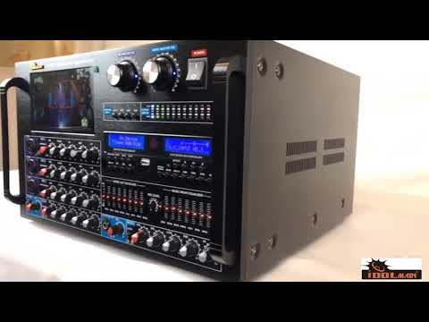 """IDOLmain IP-7500 8000W Max Output Professional Digital Console Mixing Amplifier With 7"""" LCD Screen"""