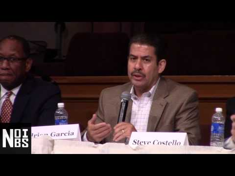 Question 10  Infrastructure Repair   Adrian Garcia - Greater Grace Mayoral Forum 6/29/15