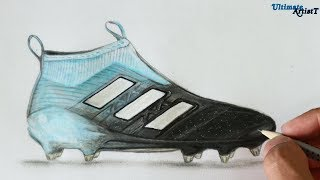 Adidas Ace 17+ PureControl Ocean Storm Cleats | Art