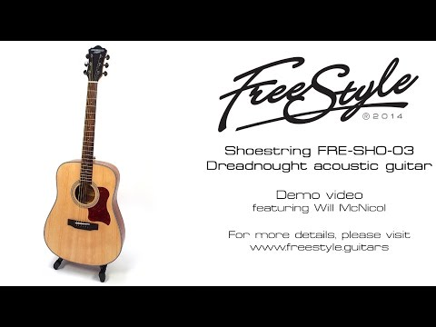 Freestyle Shoestring FRE-SHO-03 Dreadnought acoustic guitar