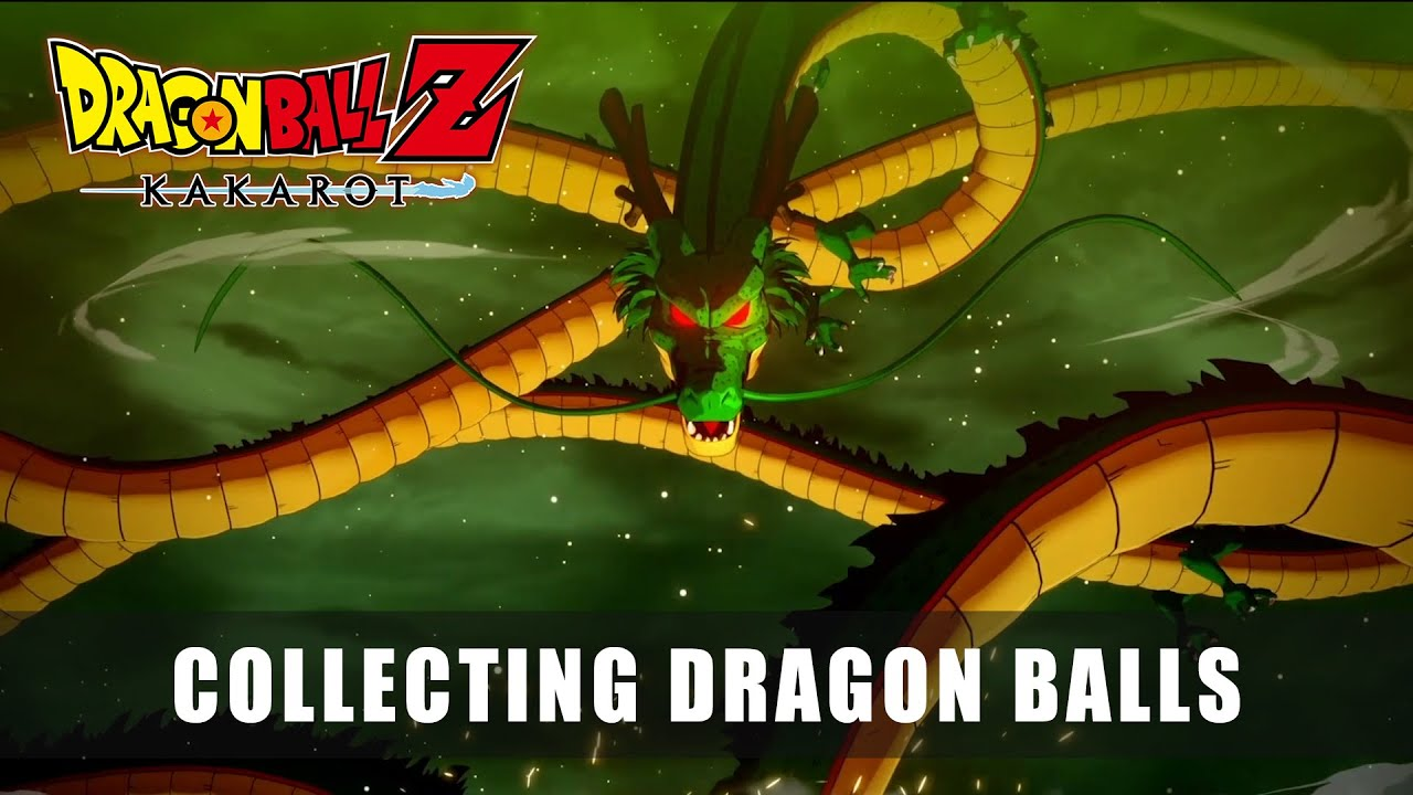 COLLECTING DRAGON BALLS - DRAGON BALL Z: KAKAROT