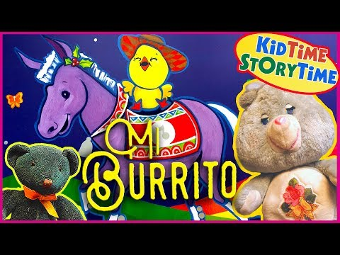 Mi Burrito Sabanero/My Little Donkey - Kids Book with Bilingual Christmas Song
