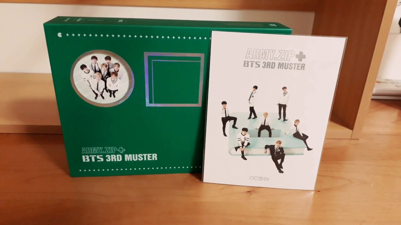 BTS(방탄소년단) 3RD MUSTER unboxing
