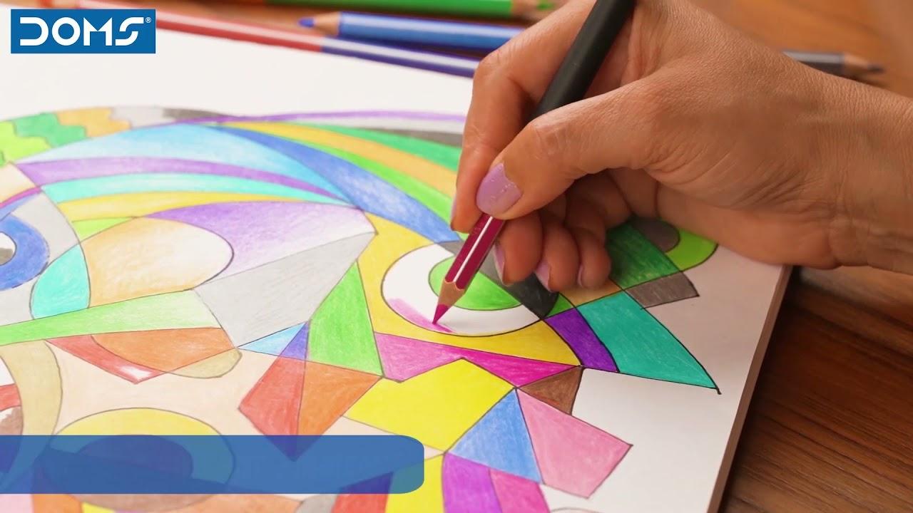 DOMS   Bi-Color Pencils