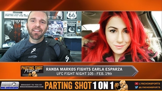 ufc halifax s randa markos talks carla esparza muslim ban switching training camps