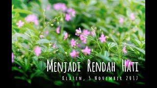 Video MENJADI RENDAH HATI download MP3, 3GP, MP4, WEBM, AVI, FLV November 2017
