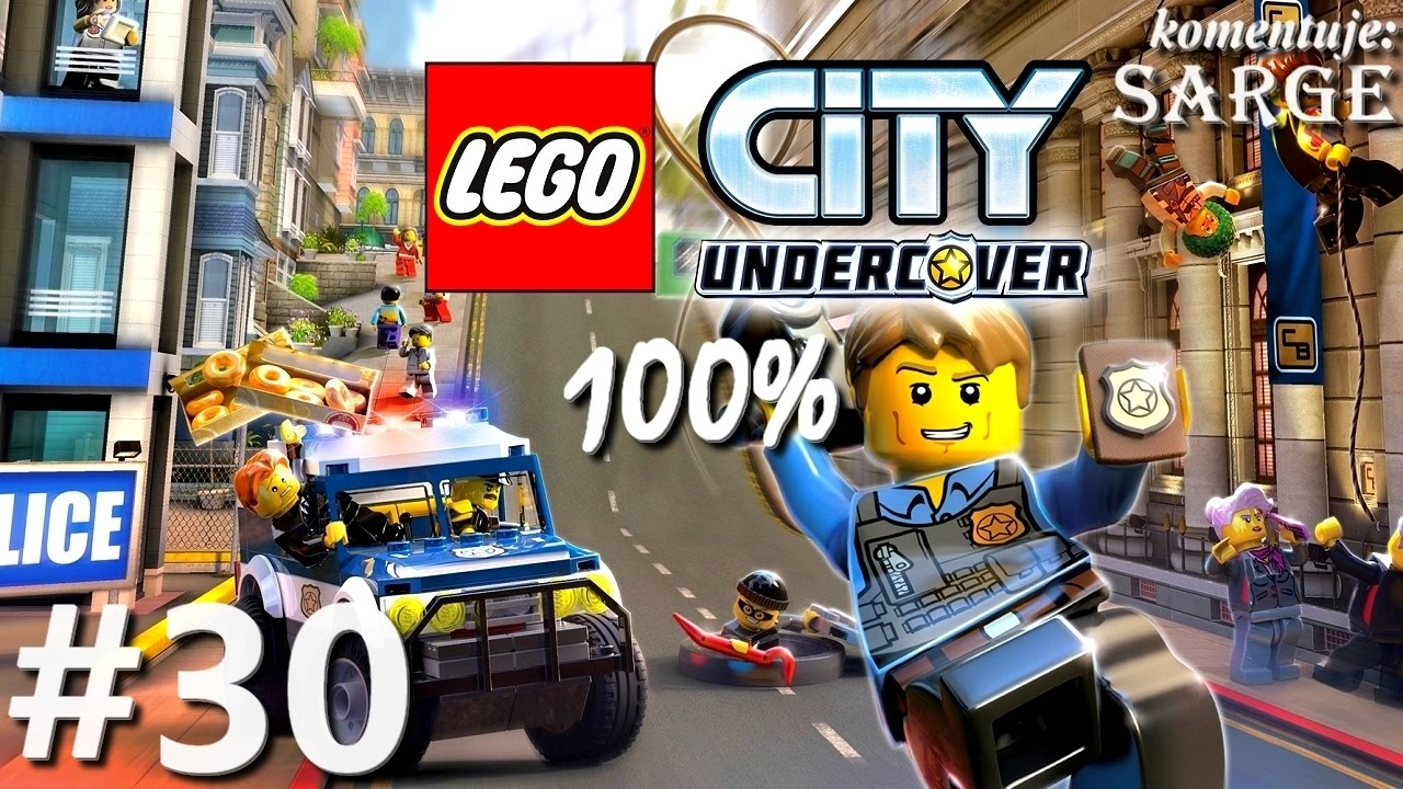 Zagrajmy w LEGO City Tajny Agent (100%) odc. 30 – Dachy 100% | LEGO City Undercover PL