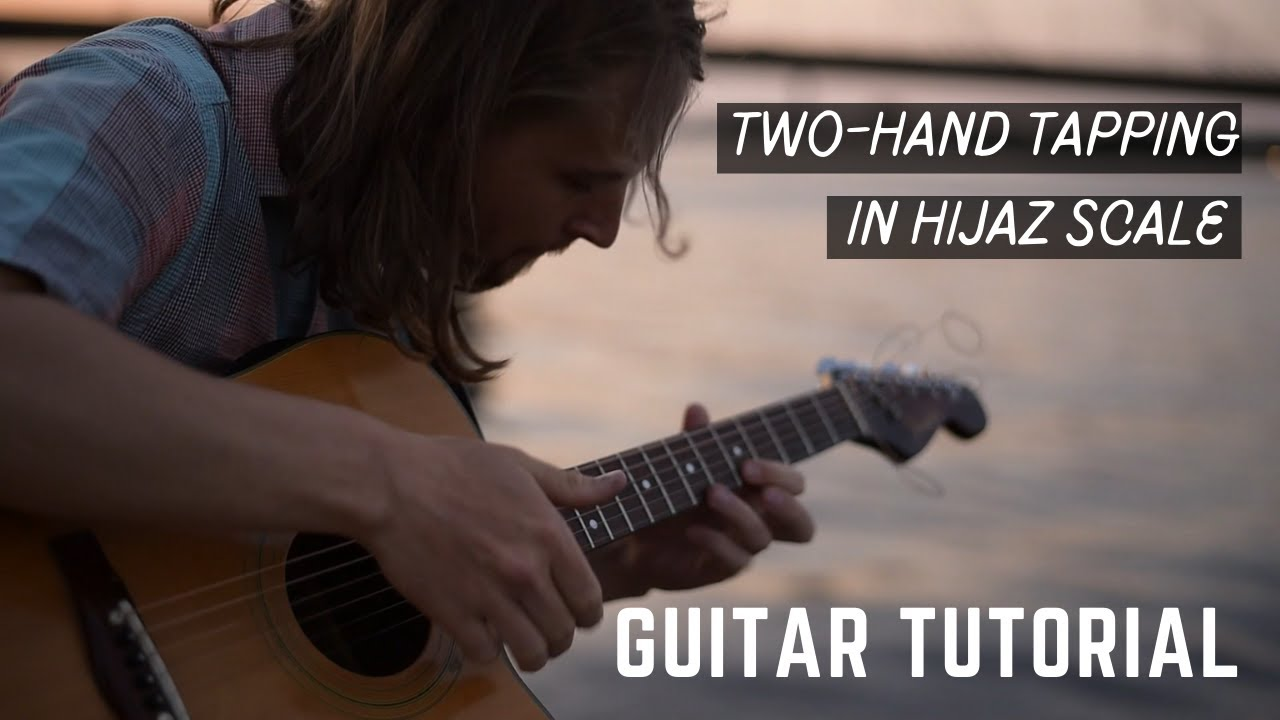 Syria Song Guitar Tutorial - Two-hand tapping in Hijaz scale