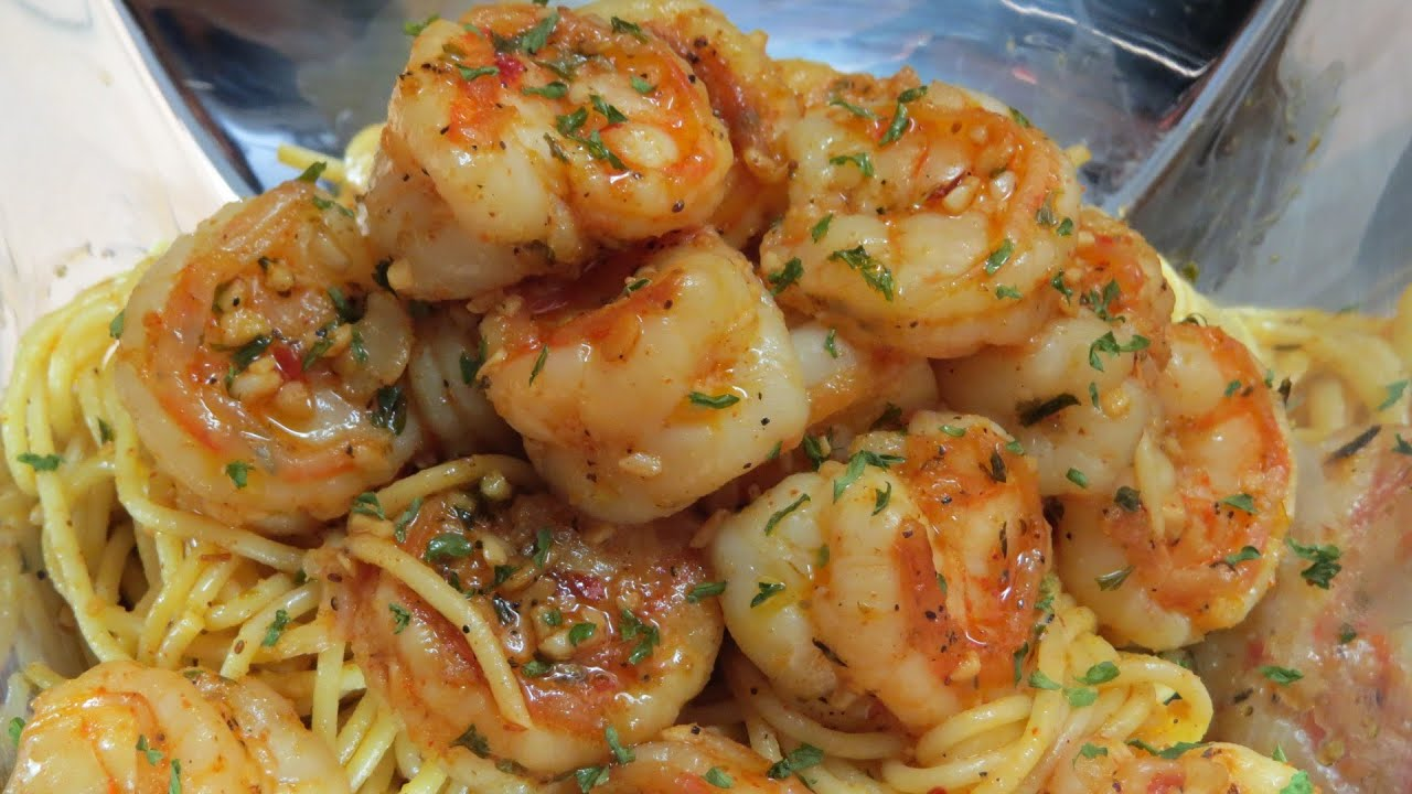 how to cook spicy shrimp pasta