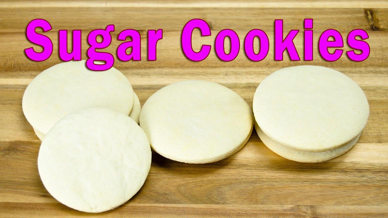 Sugar cookie recipe cake flour