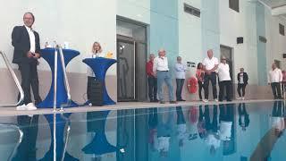 Geschafft: Das neue Hallenbad im Salinental öffnet